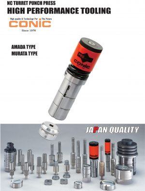 CONIC Turret Punch Tool
