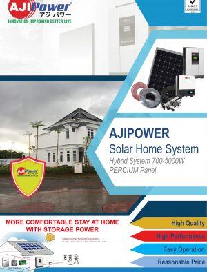 AJIPower Solar Hybrid 500-5000Wp