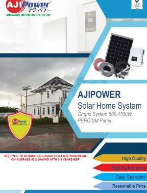 AJIPower Solar Ongrid 500-1500Wp