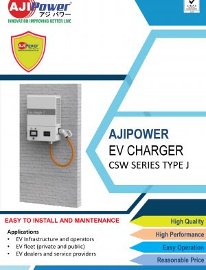 AJIPOWER EV CHARGER CSW SERIES TYPE J